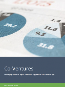 Co-ventures – Managing accident repair costs and suppliers in the modern age